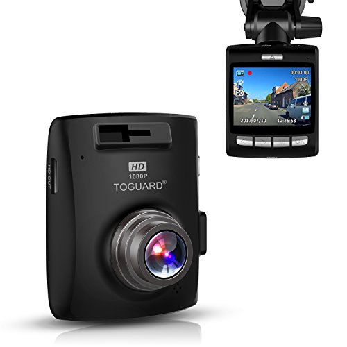 TOGUARD Dash cam Dashboard Camera,Car driving Recorder with SONY Exmor Sensor, 2