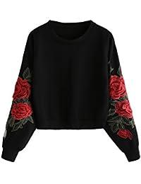 on sale 611f6 bf5bf Suchergebnis auf Amazon.de für: rosen pulli - Damen: Bekleidung