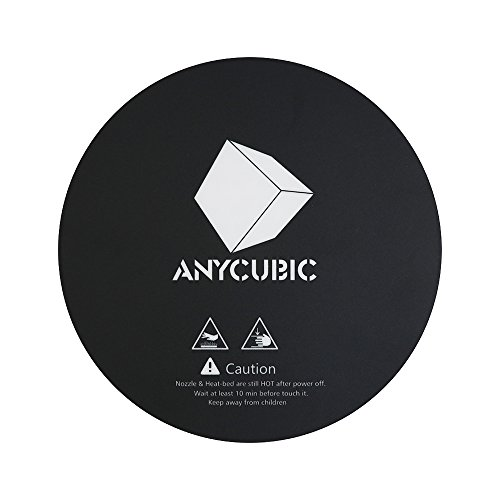 Anycubic heatbed costruire superficie diametro 240 mm per anycubic delta plus stampante 3d