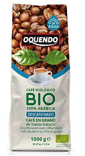 Oquendo, Café de grano tostado (Bio, Descafeinado, Ecológico) - 1000 gr.