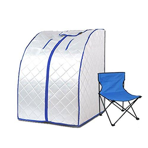 Far Infrarot Sauna negativer Ion-Detox Portable Box im Persönlichen Spa trockene Sauna Heizung Abnehmen Gewichtsverlust Verbrannte Kalorien (Dampf-infrarot-sauna)
