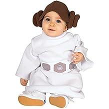 Disfraz Princesa Leia bebé Star Wars Talla 24 meses Único