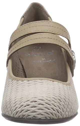 Jana24331 - Scarpe con Tacco Donna Beige (Beige (PEPPER 324))