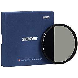 ZOMEi 82mm CPL Filtre Verre Multicouche Polarisant Circulaire Verre Filtre Polarisé Anti-Poussière Anti-Rayures Imperméable pour Canon Nikon Tous DSLR de caméra + Chiffon de Nettoyage en Microfibre