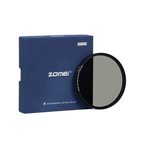 ZOMEi CPL Zirkular-Polfilter Polarisationsfilter Optisches Glas & Aluminium Für Canon Sony Nikon Fujifilm Pentax Tamron Sigma Leica Olympus Panasonic (82mm)