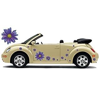 Autoaufkleber, Flower Power, Hippie Blumen, Flower Set 05 (26)