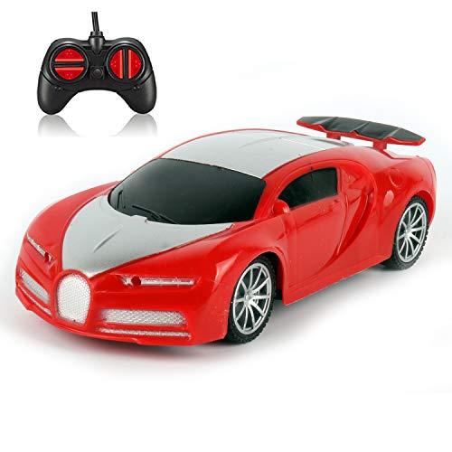 OUTTUO Ferngesteuertes Auto, RC Cars Spielzeug Funksteuerung Rennwagen Fahrzeug Große Spielzeug für alle Erwachsenen und Kinder-Rot