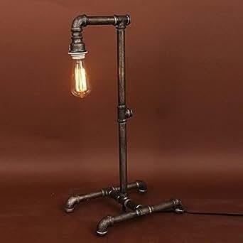 WLA lampe loft table de tuyau d'eau industrielle amercian qui dans le style rŽtro traditionnelle , 220-240V