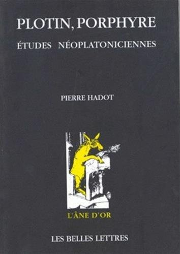 Plotin, Porphyre: Études néoplatoniciennes