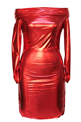E-Girl femme Rouge SY21339-3 mini robe Rouge