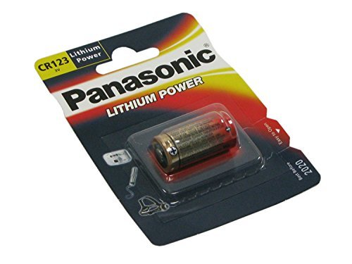 Panasonic CR123A battery ( 3.0V Lithium Power ) in blister by Panasonic
