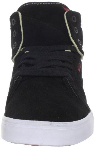 Osiris Effect, Chaussures de skate homme Noir (Blk/Crm/Red)