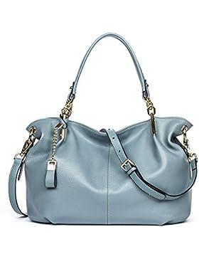 6a0d6f3e00e25 BOSTANTEN Leder Damen Handtaschen Schultertasche Umhängetasche Tote Bag