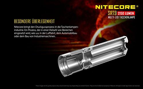 Nitecore SRT9 Taktische Taschenlampe - 4