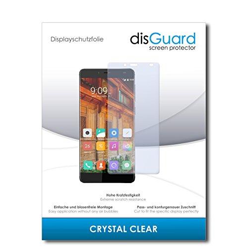 disGuard® Bildschirmschutzfolie [Crystal Clear] kompatibel mit Elephone S3 [2 Stück] Kristallklar, Transparent, Unsichtbar, Extrem Kratzfest, Anti-Fingerabdruck - Panzerglas Folie, Schutzfolie