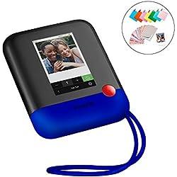 Polaroid Pop 2.0 - Appareil Photo Instantané de 20 Mp, Écran Tactile de 3,97 Pouces, Wi-Fi, Tirages Photo Zink Zero Ink 9 x 11 cm, Bleu