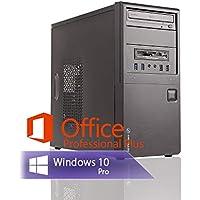 Ankermann Silent Office Business PC Intel i5 4570 4x3.20GHz HD Graphics 8GB RAM 240GB SSD 1TB HDD Windows 10 PRO Leise W-LAN Office Professional