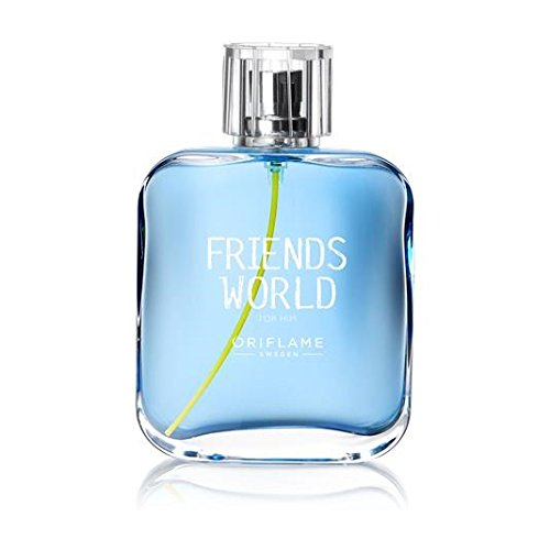 ORIFLAME Friends World Eau de Toilette Für Männer 75ml