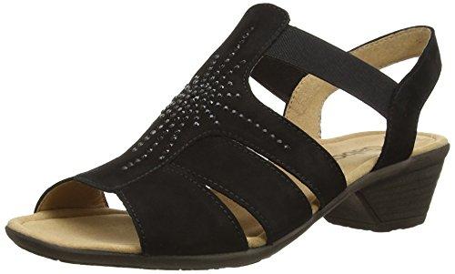 Gabor - Gabor, sandali  da donna Nero(Black (Black Nubuck))
