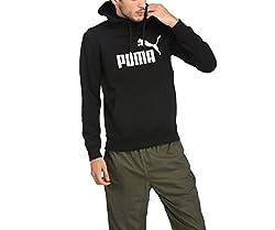 Puma Mens Cotton Sweatshirt (85080701_Cotton Black_Medium)