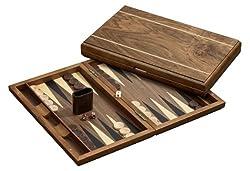 Philos 1125 - Backgammon Delos, große Kassette, Magnetverschluss