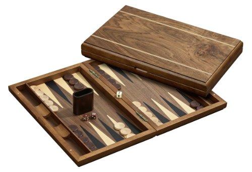 Philos-Spiele - Backgammon, para 2 jugadores (1125) (versión en alemán)