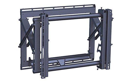 Vogel's PFW 6870 TV-Wandhalterung für 94-165 cm (37-65 Zoll) Fernseher, drehbar, max. 72 kg, Vesa max. 600 x 400, schwarz