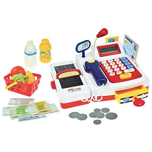 Con Supermercato Registratore Per Bambini Di Cassa Giocattolo n0P8kwO
