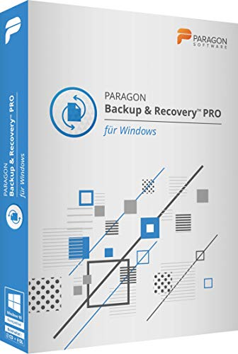 Paragon Backup & Recovery 16 PRO CD/DVD Win 10,8,7