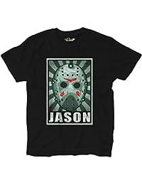 T-Shirt Maglietta Horror Parodia Cult Cinema Jason Voorhees Venerdi 13 Grunge