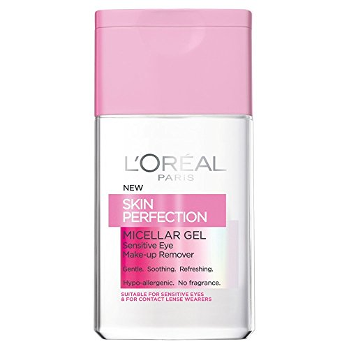 LOreal Skin Perfection Micellar Gel Eye Make Up Remover 125ml