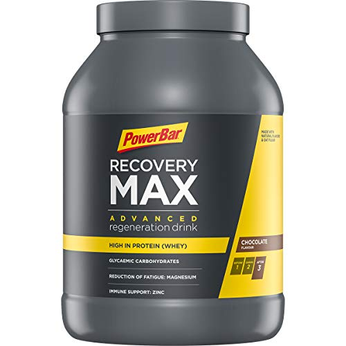 Powerbar Recovery Max Chocolate Bebida de Proteínas Whey e Hidratos d