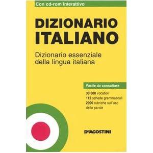 Dizionario italiano. Dizionario essenziale della l