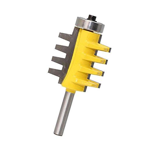 MagiDeal Profil Verleimfräser Nutfräser für Oberfräser Schaftdurchmesser 8 mm