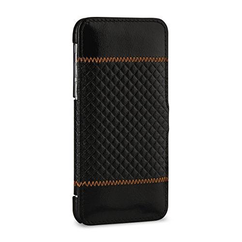 """StilGut Book Type Case mit Standfunktion, Hülle aus Leder für Apple iPhone 6 Plus 5.5"""", cognac vintage Chester"""