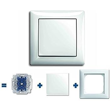 busch j ger komplettset steckdosen lichtschalter. Black Bedroom Furniture Sets. Home Design Ideas
