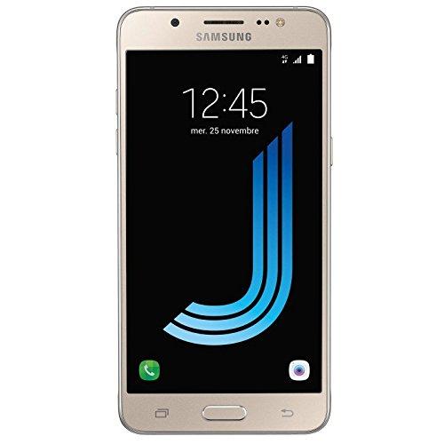 Samsung Galaxy J5 J510 Smartphone débloqué 4G (Ecran: 5,2 pouces - 16 Go - Double Micro-SIM - Android) Or