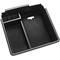Blueshyhall Car Center Console Organizer Armrest Storage Box Holder Container Coffee Leather Arm Rest Wireless Charger