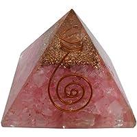 Rose Quartz Reiki Edelstein-Pyramide-Energie-Generator Feng Shui Spirituelle Geschenk preisvergleich bei billige-tabletten.eu