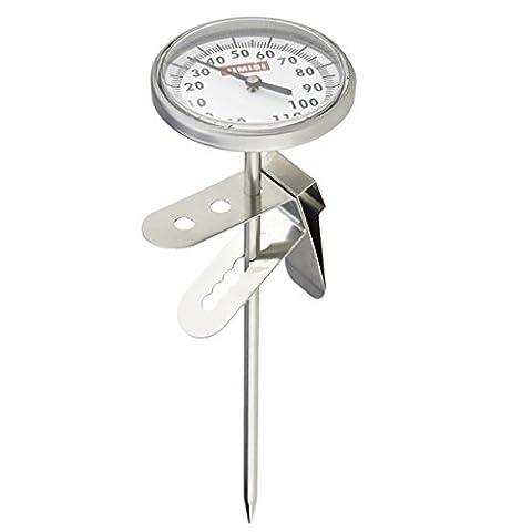 Thermomètre à Café Lait Moussage Boisson Chaud Chiffre Lecture Instantané pour Cuisine