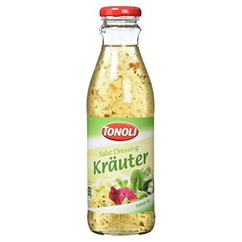 Tonoli Salat Dressing Kräuter ohne Öl, 500 ml (Französisch-kraut-salat-dressing)