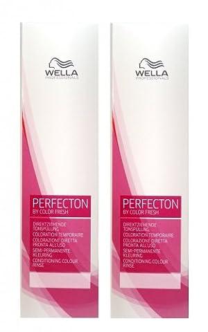 Wella Perfecton /6 violett 2 x 250 ml Tonspülung by Color Fresch Professionals