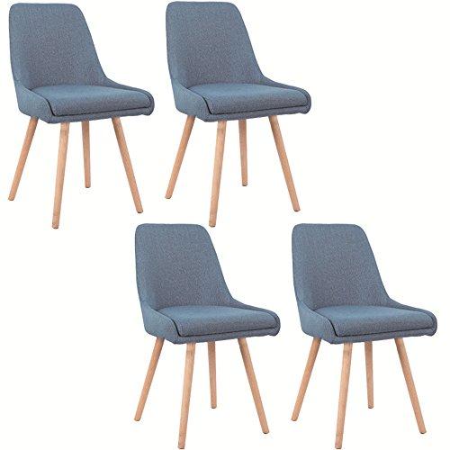 Esstische holzbeine im vergleich beste for Design stuhl addison chesterfield steppung leinen mit holzbeinen