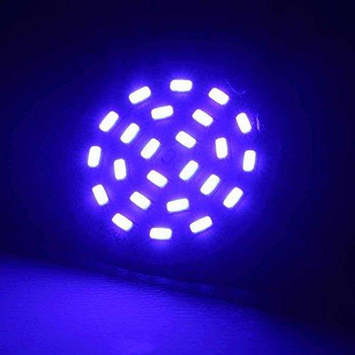 Ultra Bright LED Headlight for DJI Phantom3 Standard, Phantom 3 Advanced, Phantom 3 Professional Quad-copter Drone - Blue Light by Big Mike's - Bright Blue Headlights