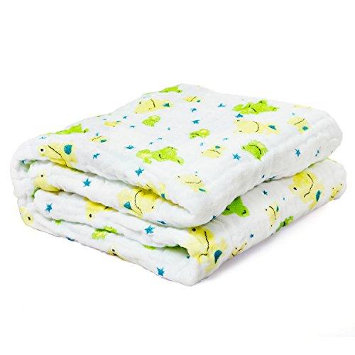 color: blanco toalla de lacta 100/% algod/ón de mulet/ón pa/ños muy suave Baby para V/ómitos pa/ños pa/ñales de tela ideal como Mull pa/ños lavable a 90//°C Emma /& Noah Gasas 70/cm x 70/cm