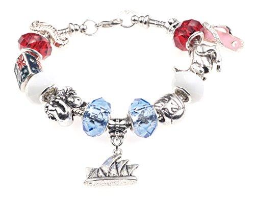 Down-Under-Australie-Charm-Bracelet-avec-bote-cadeau-bijoux-femme