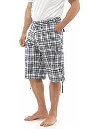 Wooven Carreaux pour femme Pantalons pour Homme
