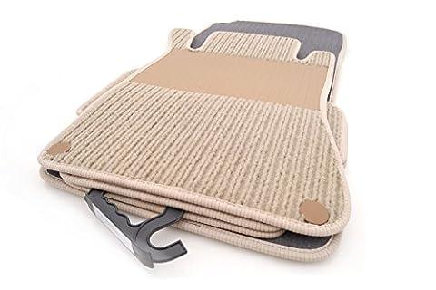 kh Teile Fußmatten / Rips Automatten Original Qualität, Ripsmatten 4-teilig,