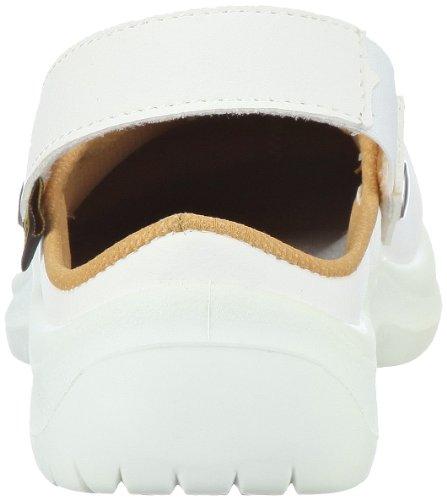 Sir Safety ESD Schuh Omega EN 61340-5-1 und EN ISO 20345 SBEA 26071401 Unisex - Erwachsene Clogs & Pantoletten Weiss (Weiss 401)