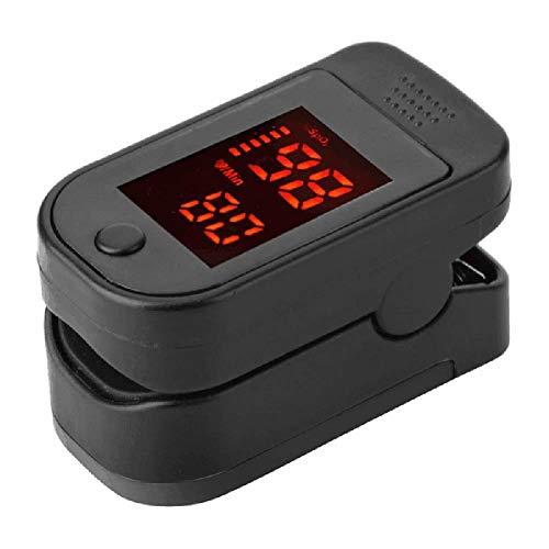 Su-luoyu Salud Familiar Detección de Movimiento Clip de Dedo Oxímetro Instrumento de Pulso 30~240 BPM Fácil de Llevar Monitorear en Cualquier Momento